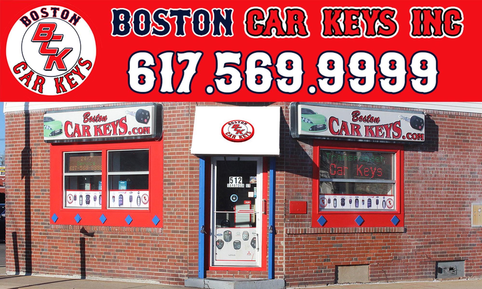 Boston Car Keys