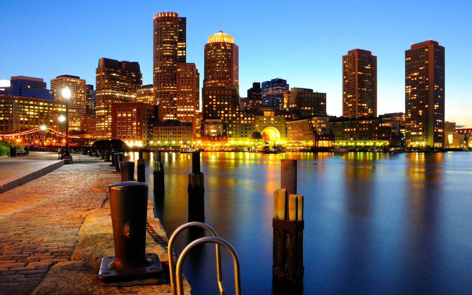 The Boston Harborwalk At Massachusetts Boston Car Keys