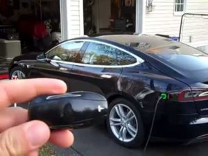 The Tesla Model S Key Fob  Boston Car Keys