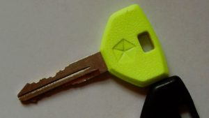 Chrysler Neon Glow-in-the-Dark Key Boston Car Keys